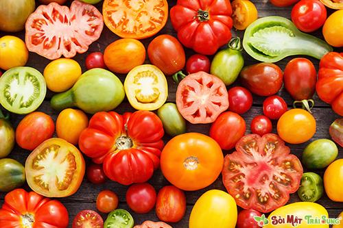 Lợi ích sức khỏe của cà chua.