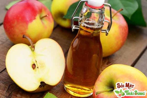 trị sỏi thận bằng dấm táo