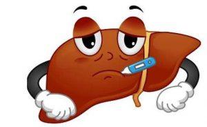 gan bị tổn thương