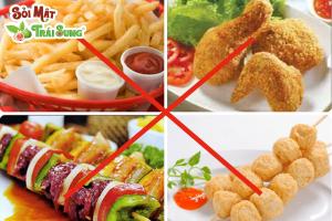 Bệnh sỏi gan kiêng ăn gì?