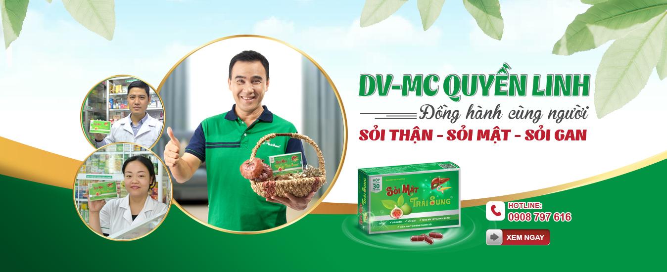 DV-MC Quyền Linh đồng hành cùng người sỏi thận - sỏi mật - sỏi gan